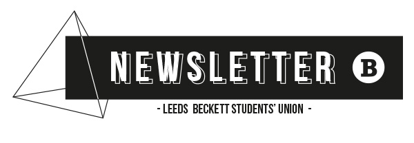 The Student Union Newsletter header